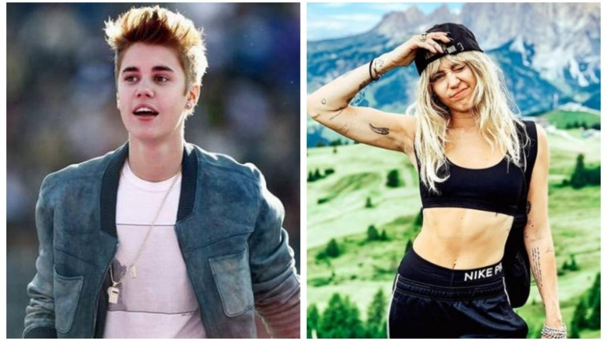 Justin Bieber pens moving note on his struggles. Miley Cyrus leads Hollywood in supporting singer