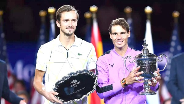 Rafael Nadal edges Daniil Medvedev for 4th US Open title, 19th Grand Slam