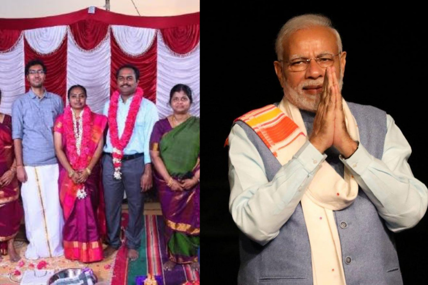 Tamil Nadu Man Invites PM Modi to Daughter
