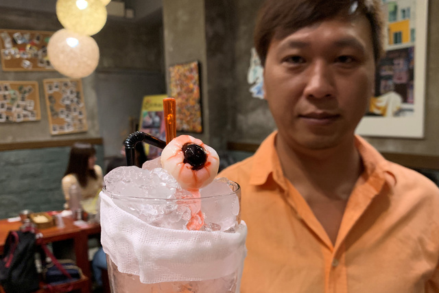 "At Hong Kong Restaurant, Protest-Themed Menu Features ""Eyeball"" Mocktails"