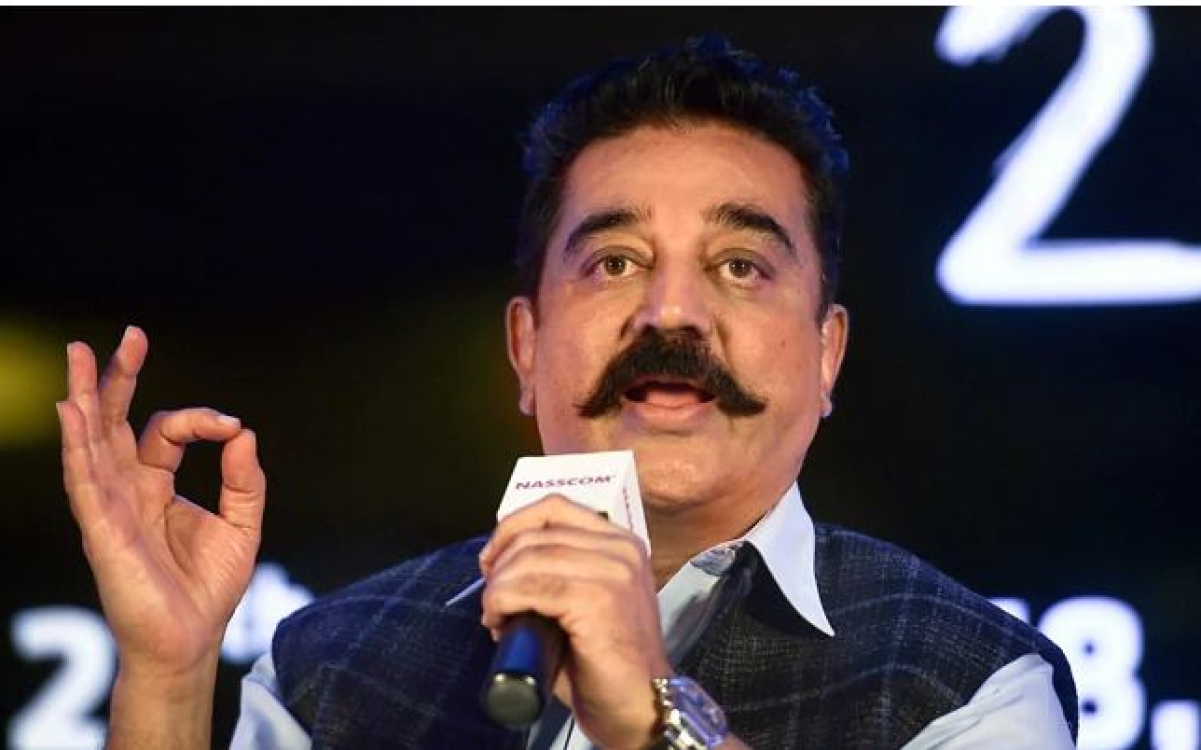 "Hindi A ""Little Child In Diapers"", Says Kamal Haasan Amid Language Row"