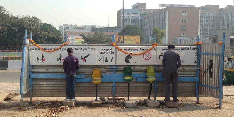 How Ashwani Aggarwal and his Basicshit.org bringing change with single-use plastic made eco-friendly low-cost urinals in Delhi