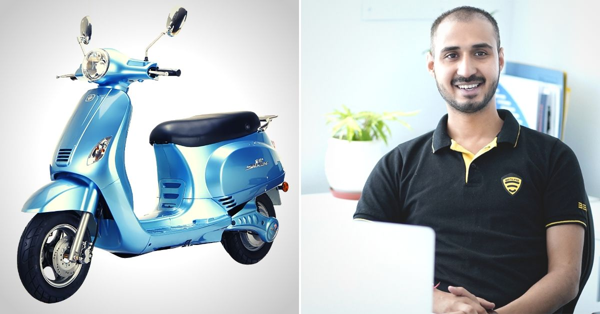 120 Km/Charge: New Electric Scooter Ensures You Reach Home Even If You Breakdown
