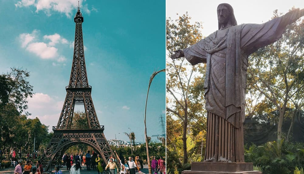 Find The Eiffel Tower & 6 More Wonders Of The World Right HERE In Delhi, Folks!