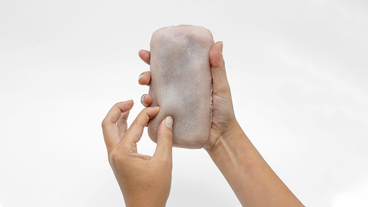 Ever wanted an artificial skin phone case? Well, here you go.