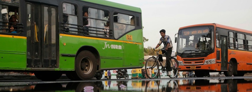Free Bus Ride Scheme for Women Begins in Delhi