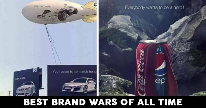 Top 5 Most Interesting Brand Wars Of All Time