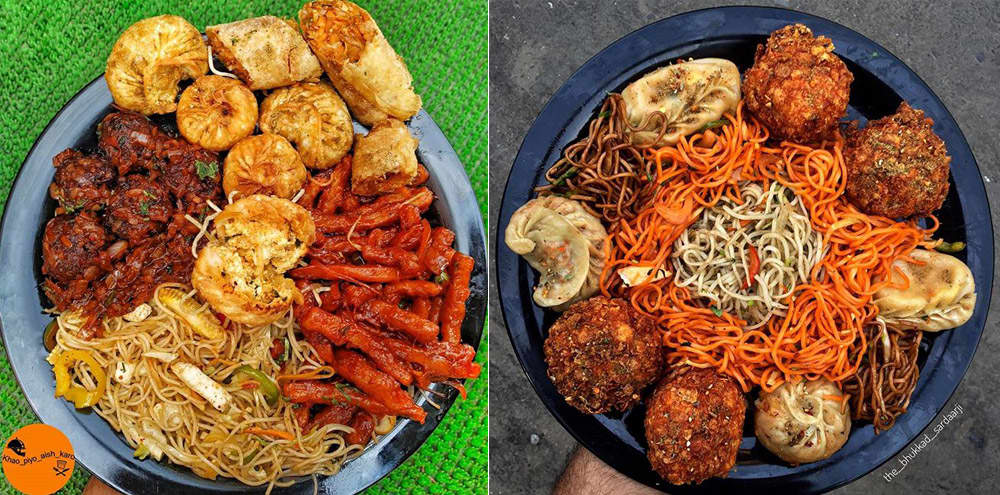 Challenge Your Friends To Finish This Tempting Chinese Platter For Rs 150 In Krishna Nagar!