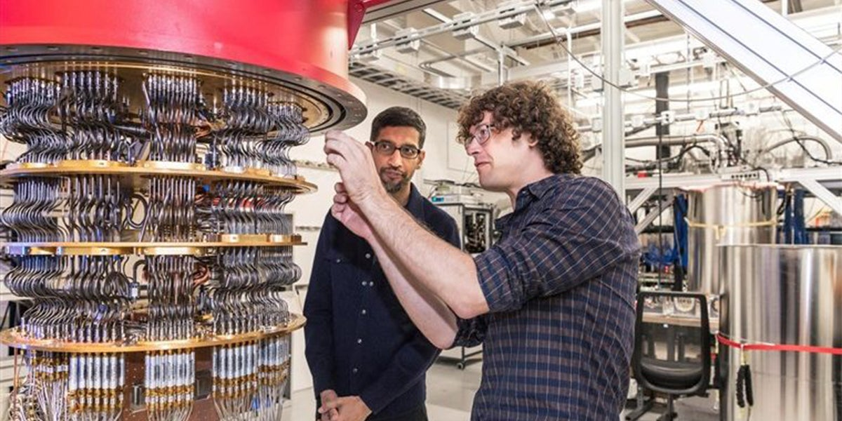 Google's Quantum Computer Claims It Can Do 10,000 Year Calculation in 200 Seconds