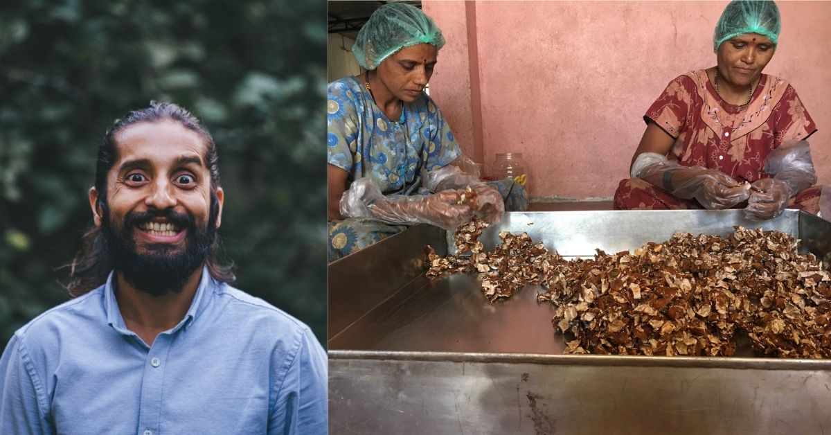 Man Quit His Marketing Job to Sell Snacks by Rural Women, Has Sold over 2 Million Desi Candies!
