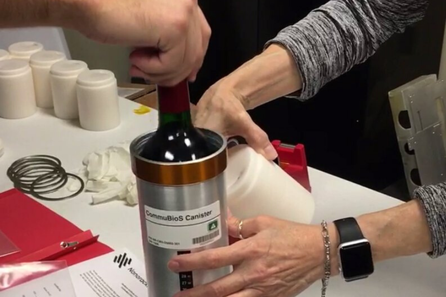 Space Age: 12 Bottles of Red Wine Have Been Sent to the International Space Station