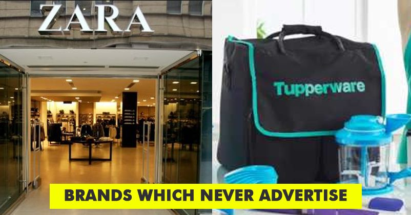 6 Top Brands Who Never Advertise And Are Still Ridiculously Famous