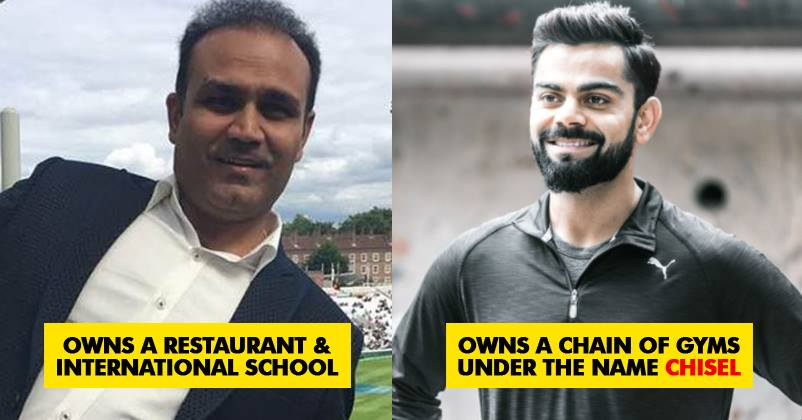 5 Indian Cricketers Who Are Giving Entrepreneurship Goals