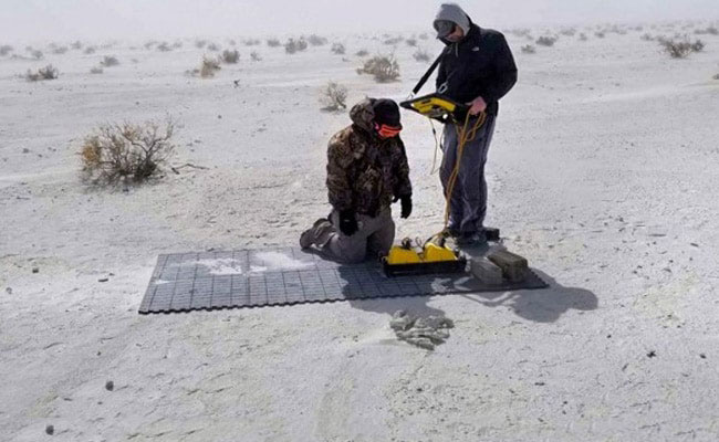 """Ghost"" Footprints Hiding Since End Of Ice Age Found Using Special Radar"