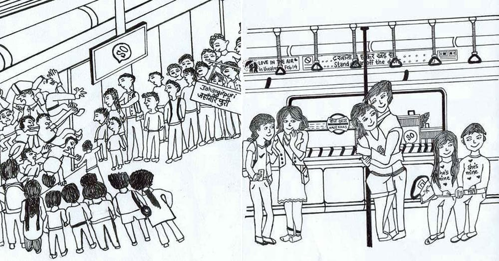 10 Types of People You See on the Delhi Metro As Depicted By These Awesome Doodles