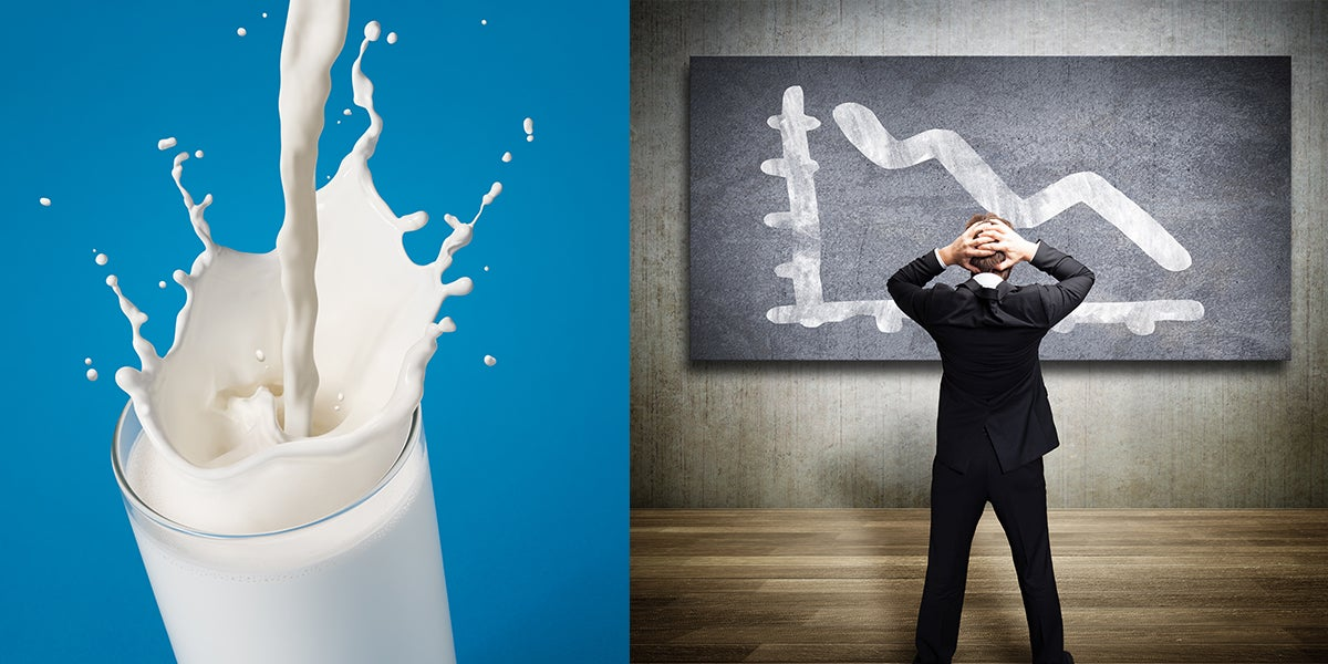 Largest Milk Producer In US Files For Bankruptcy As Industry's Profits Fall