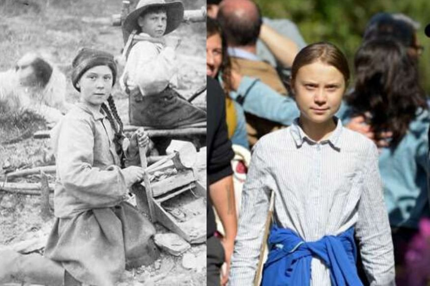 Is Greta Thunberg a Time Traveller? This 120-Year-Old Photo of Her Lookalike Has Freaked Everyone Out