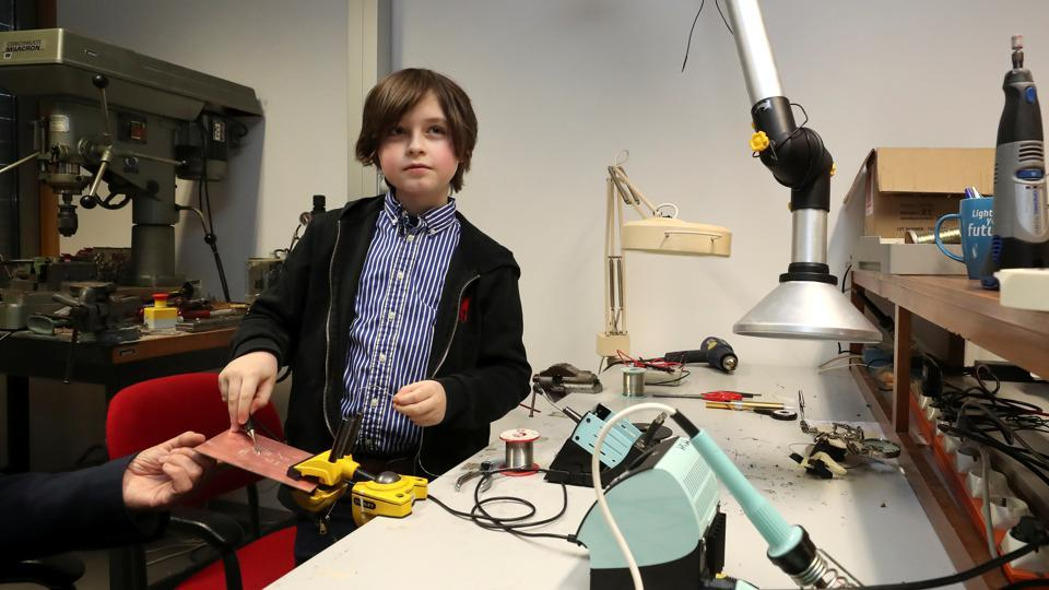 Meet Laurent Simons: 9-year-old boy on track to become world's youngest graduate