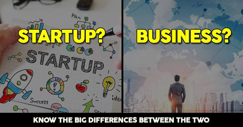 What Is The Difference Between A Startup & A Business?