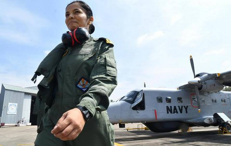 Sub Lieutenant Shivangi is the first-ever woman pilot for Navy