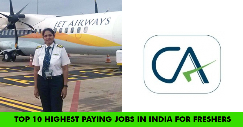 Top 10 Highest Paying Jobs in India for Freshers
