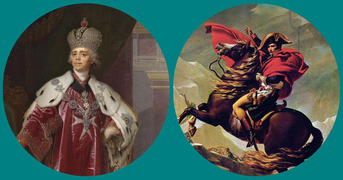 Napoleon in France and Tsar Paul I in Russia wanted to invade India. What stopped them?
