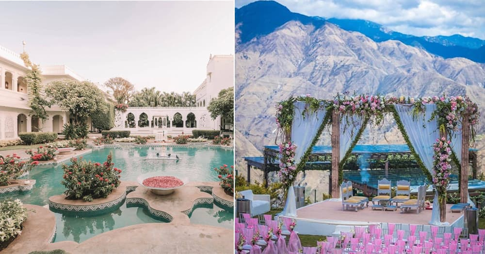 9 Picturesque Hotels Across India For That Dreamy Destination Wedding Where You Can Say