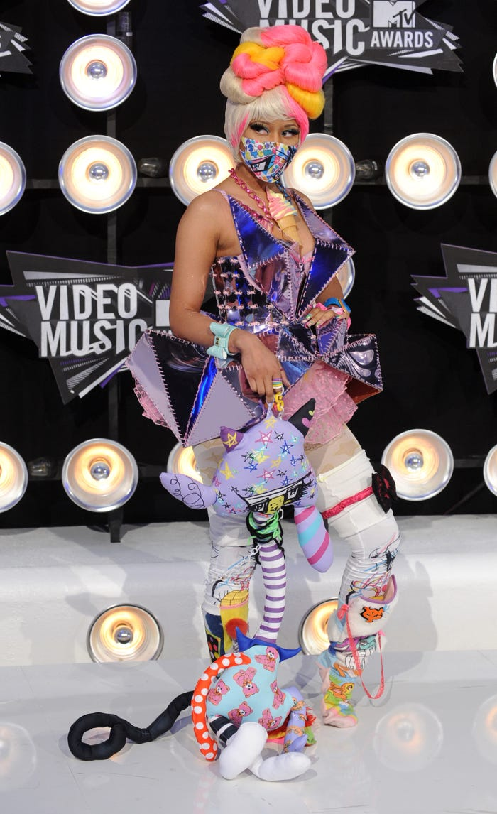 The 25 wildest, most audacious outfits Nicki Minaj has ever worn