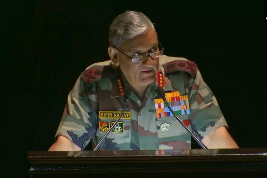 Army Chief Bipin Rawat Bats for