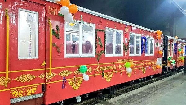 Indian Railways starts special see-through Vistadome train on Kalka-Shimla route