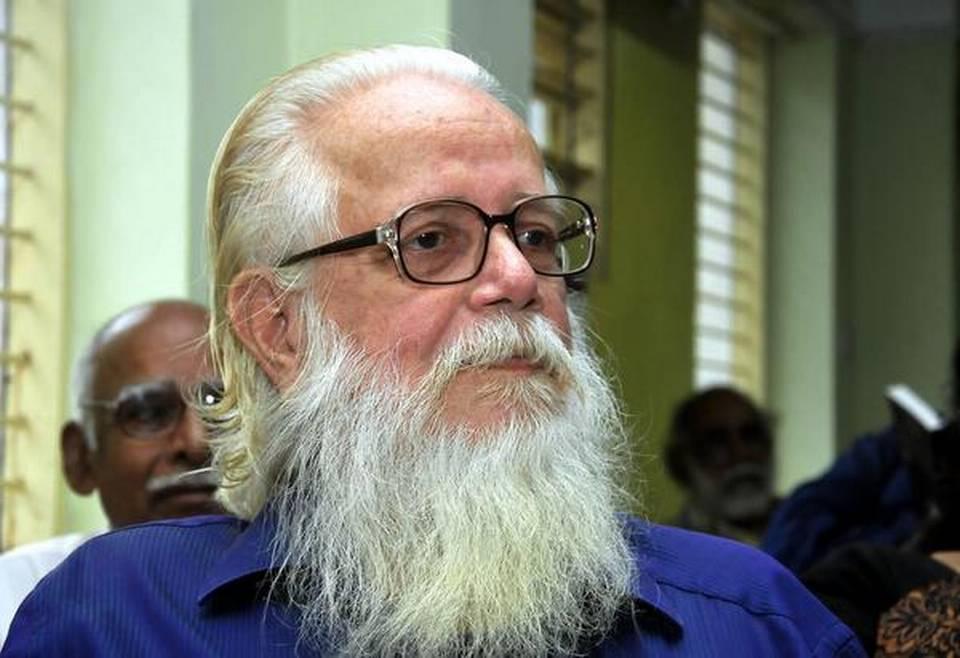 Former ISRO scientist Nambi Narayanan to get ₹1.3 crore