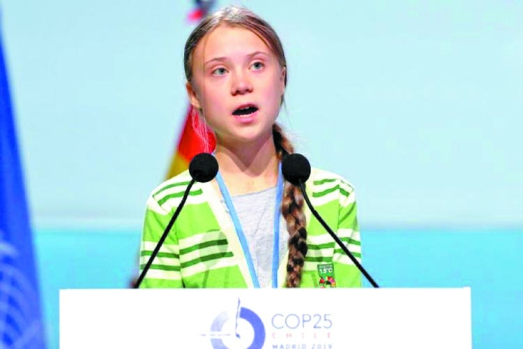 """Our House Is On Fire"": Greta Thunberg"