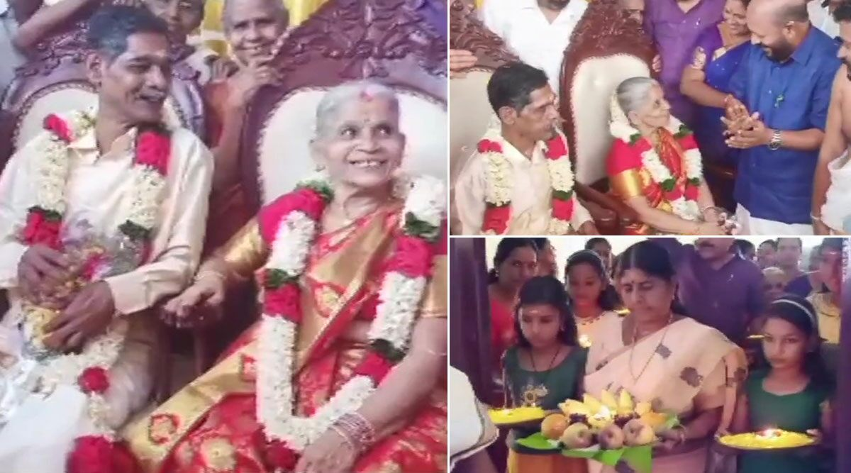 Kerala Couple Marry After Falling In Love At Old Age Home, Photos Viral