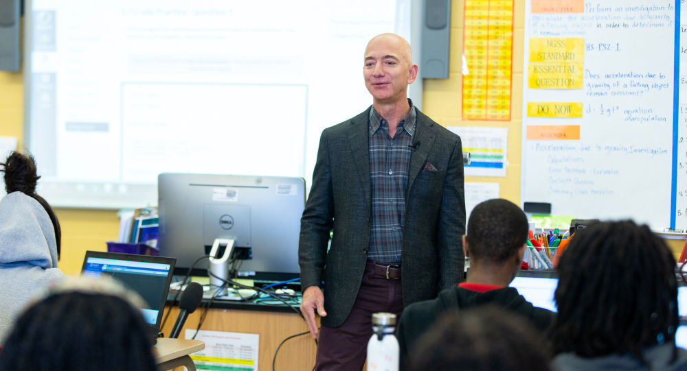Top five Jeff Bezos moments in 2019