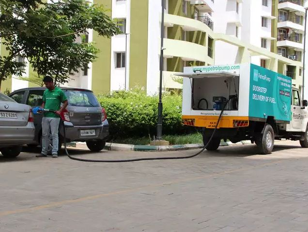 "Searching for ""petrol pumps near me?"" Get fuel delivered at your doorstep instead"