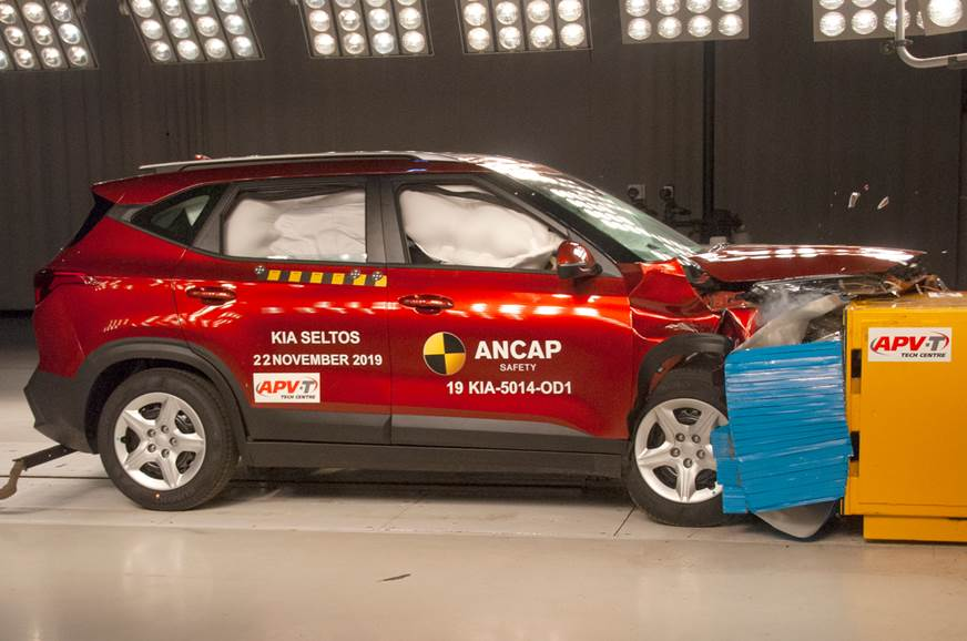Kia Seltos awarded 5-star ANCAP rating