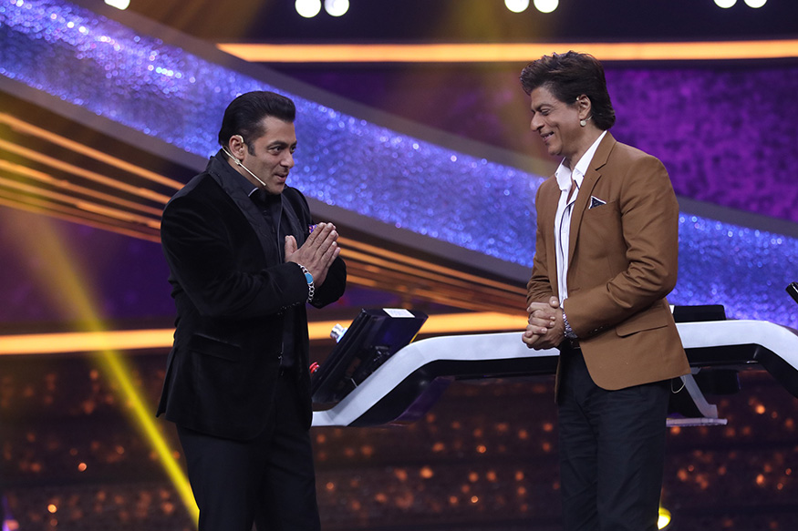 Salman Khan Jokes Shah Rukh Khan Made a Film After His Crush Kiran