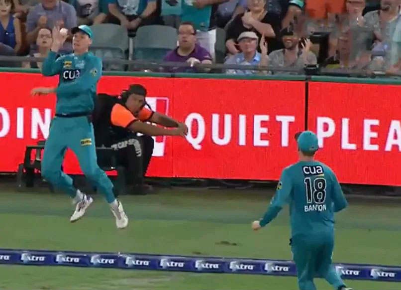 Unique Relay Catch At Boundary Stirs Controversy In BBL. Watch Video