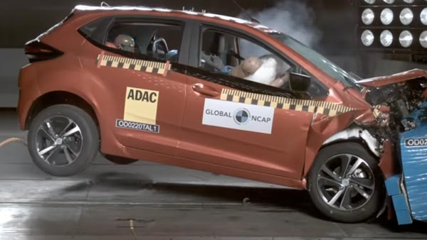Tata Altroz secures five-star rating in Global NCAP crash tests