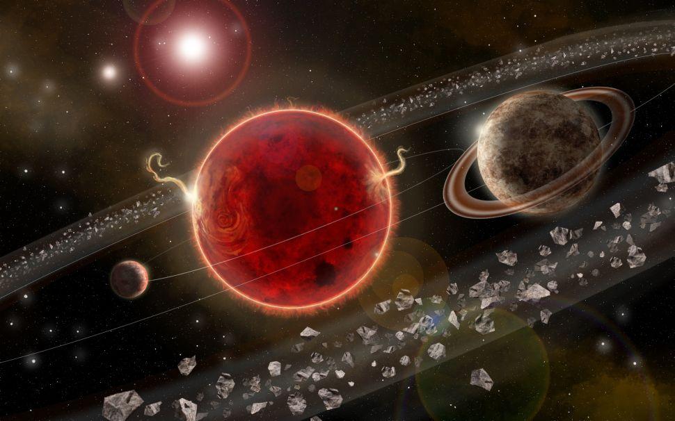 Proxima Centauri, the sun