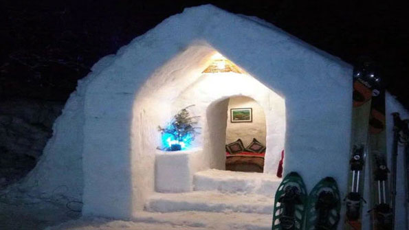 Manali is attracting tourists this winter with a new igloo stay concept