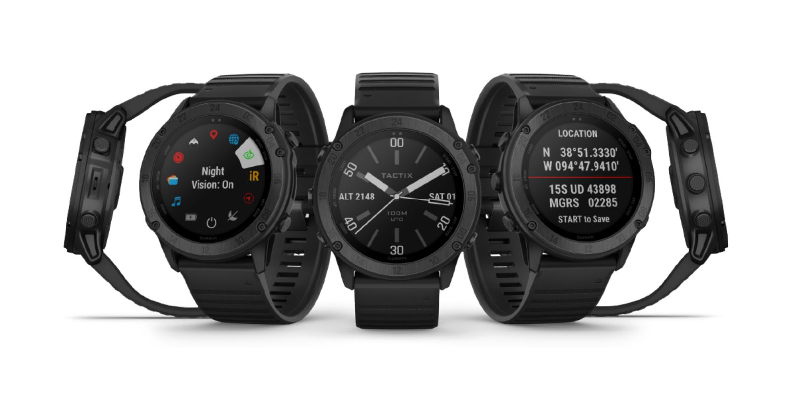 Garmin's new Tactix Delta smartwatch looks designed for a privacy-conscious Navy SEAL