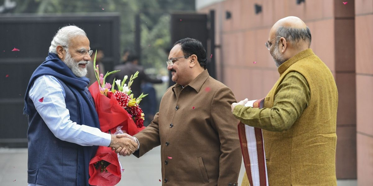 How Soft-Spoken J.P. Nadda Found His Way to BJP