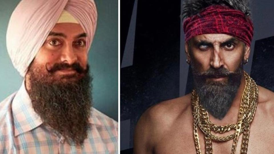 Akshay Kumar debuts Bachchan Pandey's striking new look, postpones film for Aamir Khan's Laal Singh Chaddha
