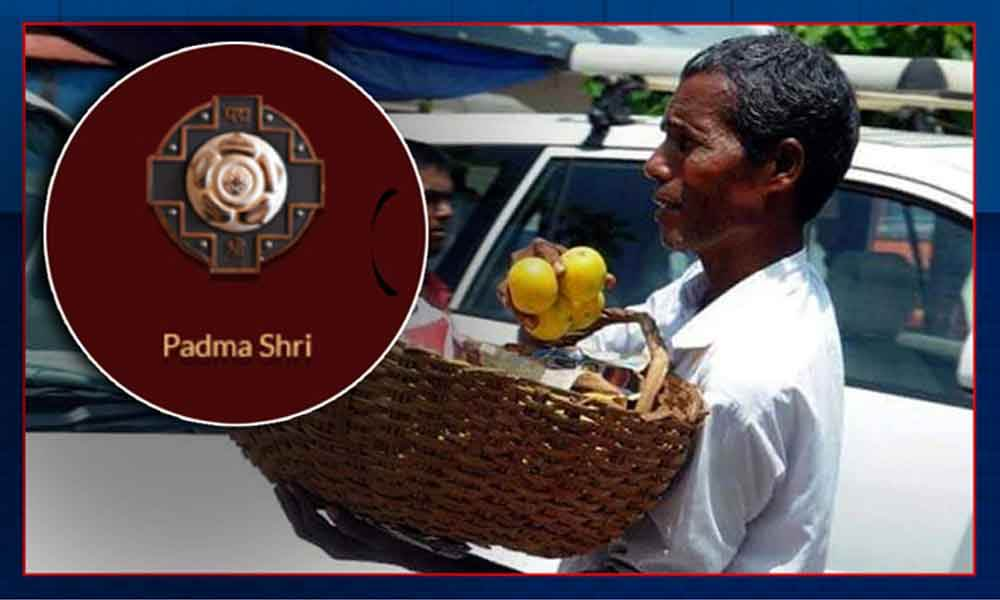 Meet The Orange Seller From Karnataka Who Won Padma Shri