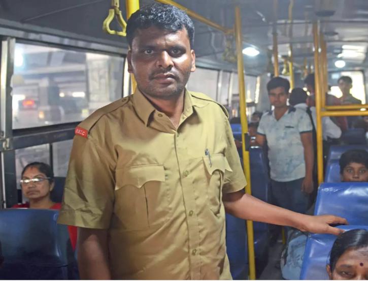 Aiming High: This 29-YO Karnataka Bus Conductor Studied 5 Hours Everyday & Cleared UPSC Exams