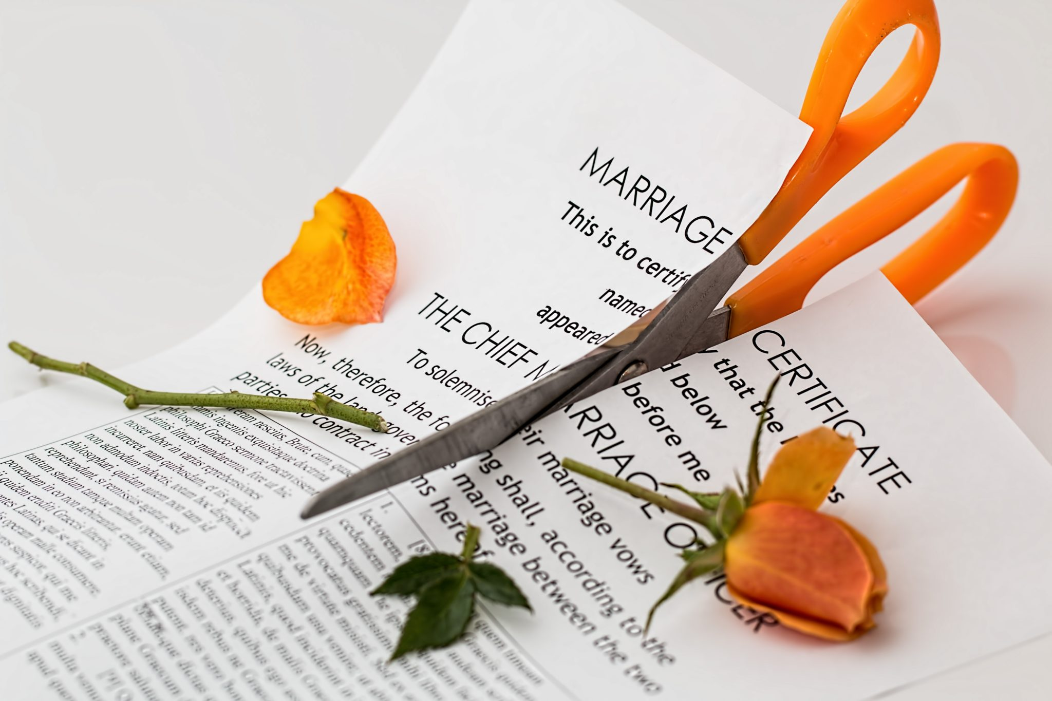 Divorce (Matrimony) in Astrology