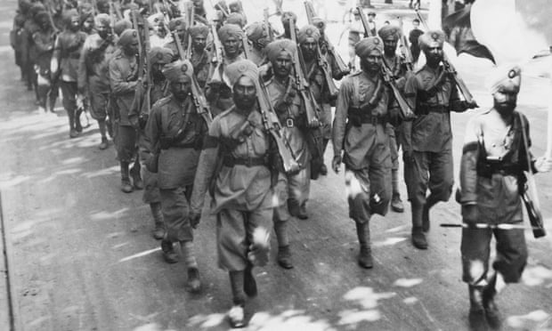 British army 'failed to treat Indian soldiers for shell shock'