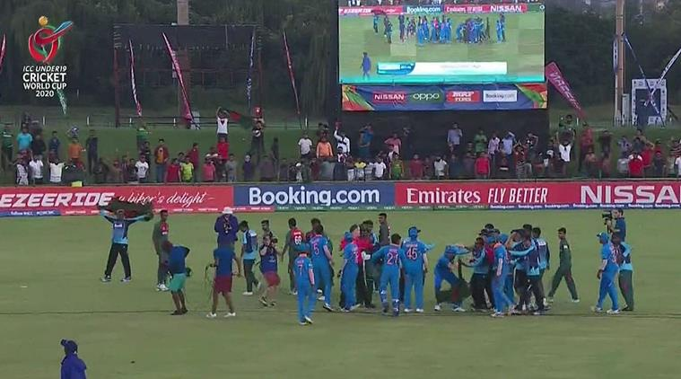 India, Bangladesh players clash after U-19 World Cup finals