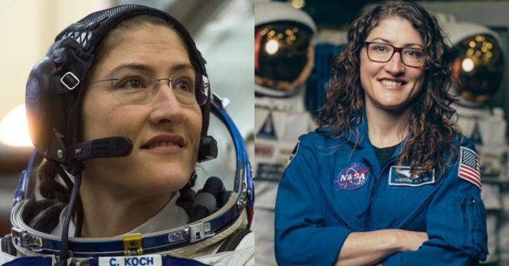 Christina Koch Lands After Record-Breaking 328 Days In Space, Making All Of Humanity Proud